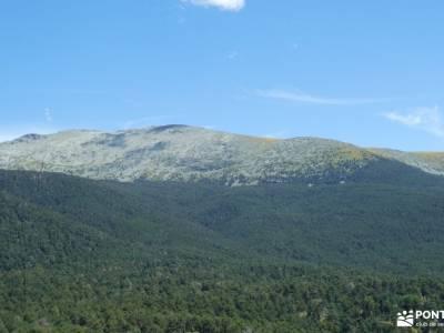 Chorranca y Silla del Rey, Cerro del Moño de la Tía Andrea;rutas a pie granja de san ildefonso segov